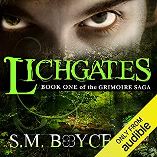 Lichgates audiobook cover art