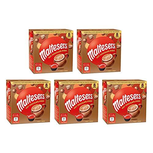 Maltesers Cioccolata Calda - 40 Dolce Gusto Capsule - 8 Confezioni…