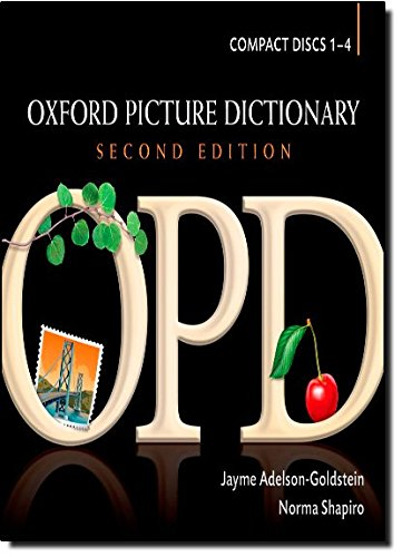 The Oxford Picture Dictionary Second Edition Audio Compact Discs (No. 1-4)