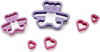 Betty Bossi Emporte-pièce – Ensemble de 2 - Mignon petit biscuit en forme d'oursons en 2 tailles - Lavable au lave-vaisselle…