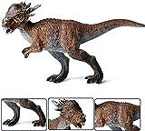 Stygimoloch Dinosaur Figure Pachycephalosaurus Model Realistic Animal Toys Collector Decoration Gift Birthday Party for Adult