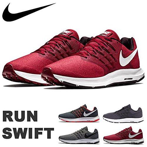 Nike Run Swift, Zapatillas para Correr Hombre, Color Negro y Blanco, 40 EU