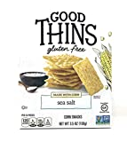 3 boxes - Nabisco Good Thins, Corn, Sea Salt, 3.5 oz per box