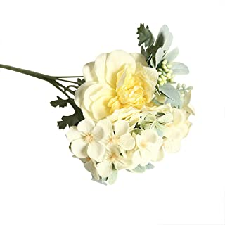 Conversege Fashion Beauty Camellia Artificial Flower Wedding Decoration INS Wind Plant Wall Flower