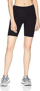 Women's/Girl's 4 Way Stretch Cotton Spandex High Waist Cycling Short/Yoga Pant/Jogging Pant,Free Size,Black