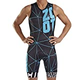 Zoot Men's LTD Triathlon Suit - Tri Tank Racesuit with Primo Fabric and Two Pockets (ZOOT Racing, XX-Large)