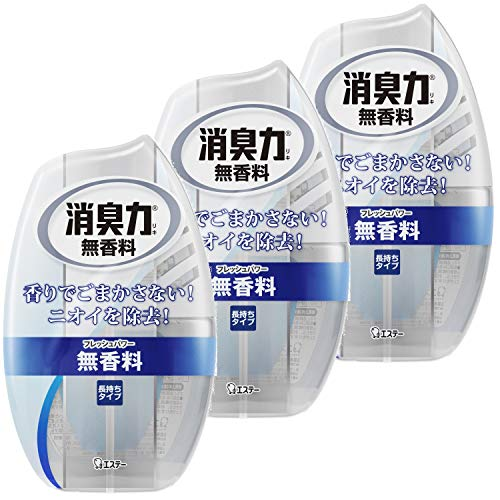 Estee Shoshuryoku Air Freshener from Japan. Deodorant force of the room fragrance-free 400ml 3 pieces Ã-