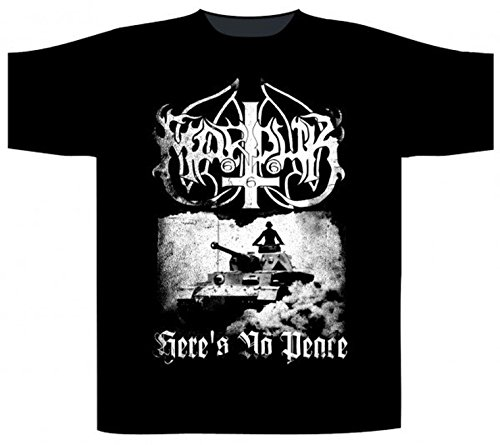 Marduk - Heres No Peace (T-Shirt, Farbe: schwarz, Größe: L)