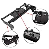 ECOTRIC Gooseneck Trailer Hitch System Complete Underbed Kit Compatible with 1999-2016 Ford F250 F350