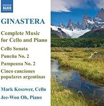 Alberto Ginastera: Complete Music for Cello and Piano by Alberto Ginastera (2008-06-24)