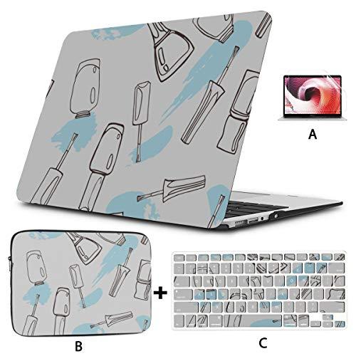 Accesorios para Macbook Pro Colorful Art Fashion Esmalte de uñas Macbook Pro Protector Hard Shell Mac Air 11'/ 13' Pro 13'/ 15' / 16'con Funda para portátil para Macbook Versión 2008-2020
