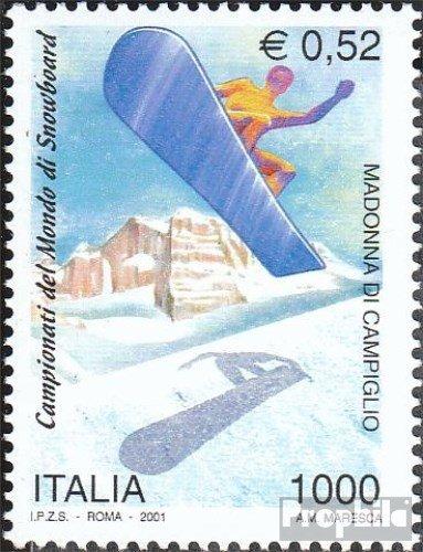 Prophila Collection Italien 2739 (kompl.Ausg.) 2001 Snowboard - WM (Briefmarken für Sammler) Wintersport