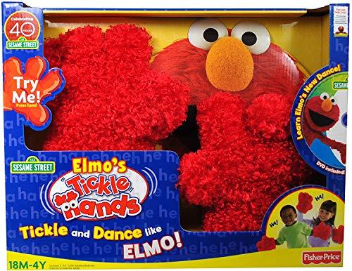 TAD ELMO's TICKLE MANOS con batidos y risas más sonidos tontos y frases divertidas con DVD de bonificación