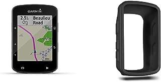 Garmin Edge 520 Plus Compteur GPS de Vélo & Housse en Silicone pour Edge 520 - Noir (010-12195-00)