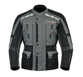Veste blindée MBSmoto MJ-21 - Pour moto, scooter, motocyclisme - En nylon 600D - Imperméable - Pour homme
