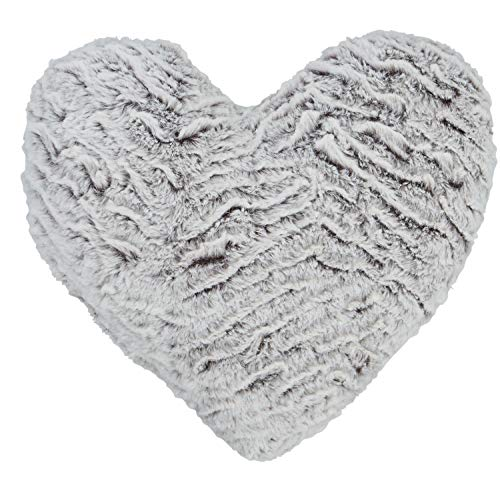 Catherine Lansfield Wolf Heart 3D Cushion Neutral