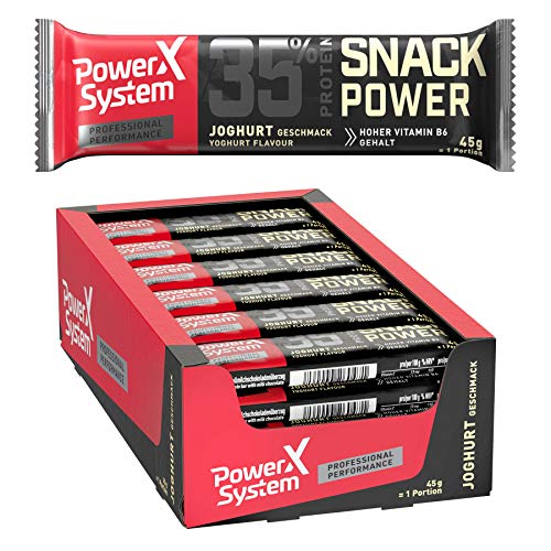 Power System Protein Bar 35% Snack Power - 24 x 45g (Joghurt)