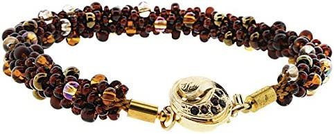 Kumihimo Jewelry Same day gift shipping Kit Dark Neutrals Beadsm by Texture W Subtle