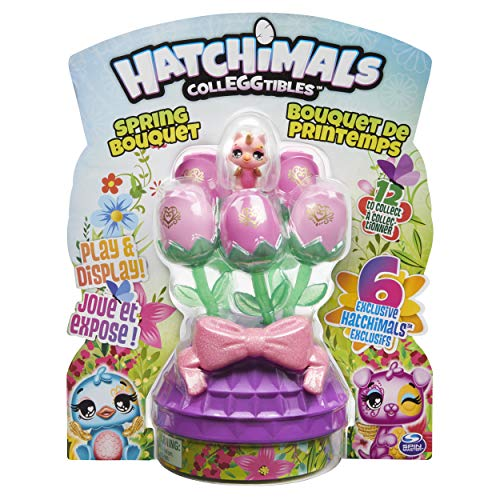 Hatchimals CollEGGtibles, Spring Bouquet with 6 Exclusive Characters, Easter Toy for Kids (Style May Vary)