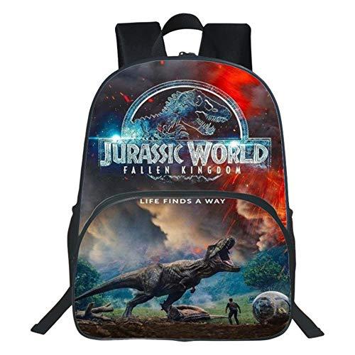 Zaino per Bambini Jurassic Park Zaino per Scuola Elementare Zaino per Dinosauri 8