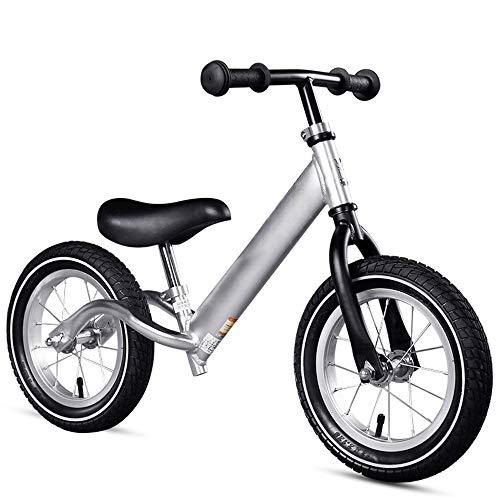 Bikes Balance Bike Kinderfiets, verstelbaar, zonder pedalen, push en stride, voor kinderen en kinderen, sporttraining, walking-bikycle voor 18 maanden tot 6 jaar, ultralicht, aluminium, 12 inch (12 inch) wet