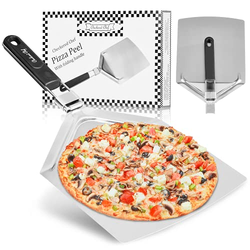 Checkered Chef Pizza Paddle - Large Stainless Steel...