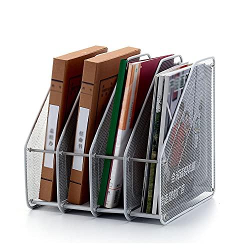 CHMEYUN Almacenamiento De Oficina Multifuncional, Almacenamiento De Bandeja Cartas Y Soporte Papel A4 Multifuncional con Cajones Organizador De Archivos para Documentos Organizador