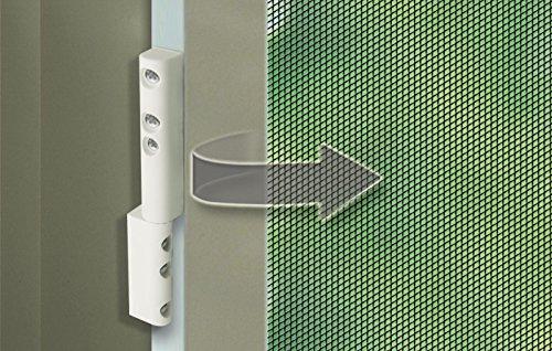 Schellenberg 70100 Scharniere mit Schließfeder für Insektenschutztüren & -fenster