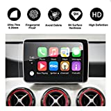 2014-2018 Mercedes-Benz CLA-Class C117 CLA 250 AMG CLA 45 Touch Screen Car Display Navigation Screen Protector, R RUIYA HD Clear Tempered Glass Protective Film (8-Inch)