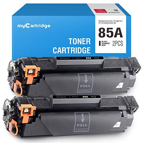 MyCartridge kompatibel HP 85A CE285A Schwarz druckerpatronen HP Laserjet P1102W M1212NF MFP M1132 M1210 M1130 M1217NFW toner 2-Pack