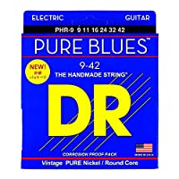DR PURE BLUES PHR-9 LITE エレキギター弦×3セット