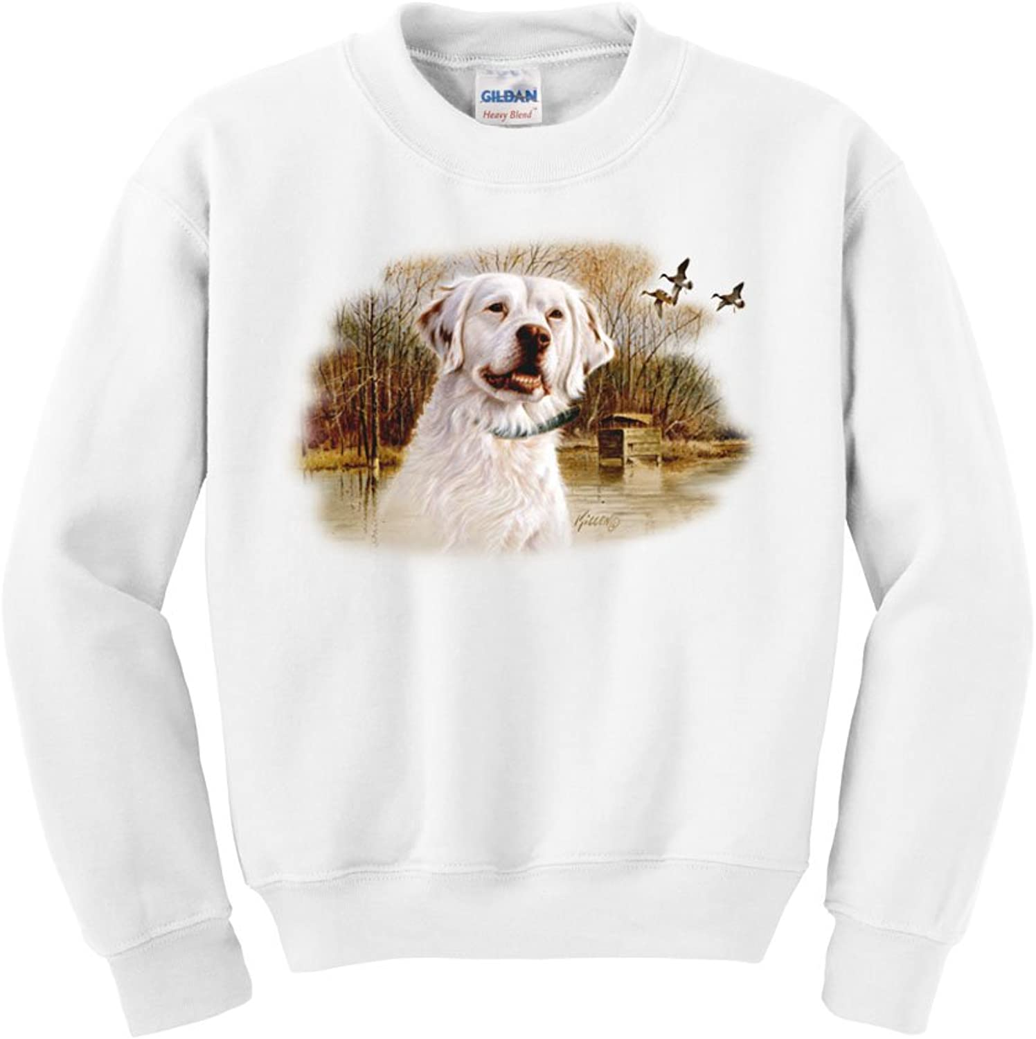 3219135bec801 Express Yourself King - English Setter Crew Neck Sweatshirt Sweatshirt  Sweatshirt - Mens Sizing cec6cd