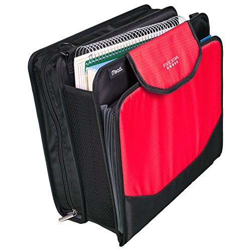 Five Star Sewn Zipper Binder, 2 Inch 3 Ring Binder With 4 Inch Capacity, Assorted Colors, Color Selected For You, 1 Count (28044) Photo #34