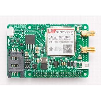 4GPi(ラズベリーパイ用4G(LTE cat.4)通信モジュール)
