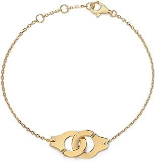Best gold handcuff bracelet Reviews