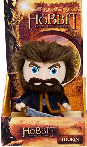 Hobbit the Unexpected Journey Toy - 6 Inch Thorin Plush Figure - Lord of the Rings Tolkien