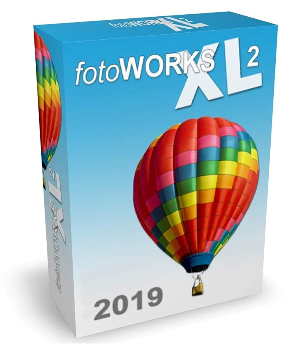 FotoWorks XL 2019 Version - Photo Editing Software for Windows 10, 7 and 8 - Very easy to use