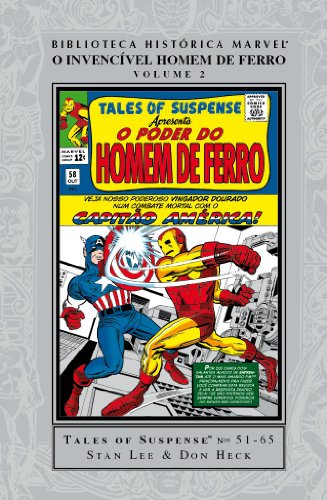 Homem de Ferro - Biblioteca Histórica Marvel - Homem de Ferro - Volume - 2