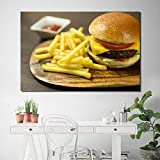 SHENLANYU Pommes Frites Rindfleisch Burger Fast Food
