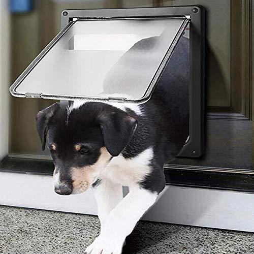 FXQIN Puerta abatible Mascotas: Montaje Puerta Inteligente