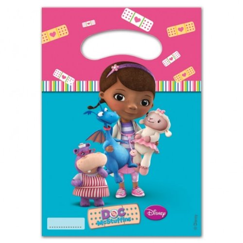 Party Stuff 4U Doc McStuffins Lot de 6 sacs