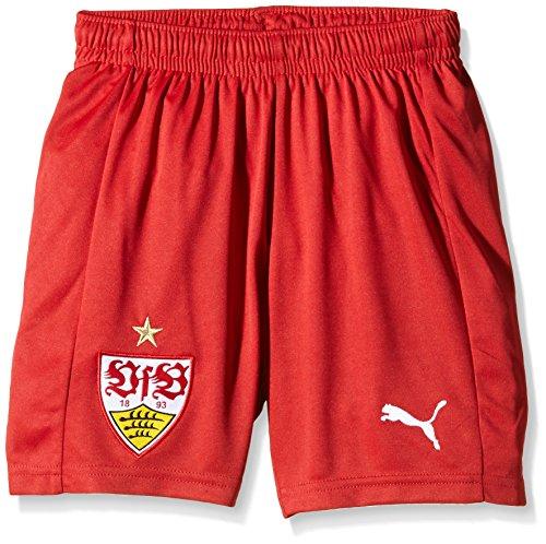 PUMA Kinder Hose VFB Stuttgart Replica Shorts, Team Regal Red, 164