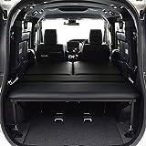 ヴォクシー 80系 7人乗り車専用 ベッドキット ブラックレザータイプ/クッション材40mm ボクシー ベッド ボクシー 車中泊 ベットキット VOXY マット 荷室 棚 VOXY 車中泊 日本製