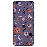 AMZER Slim Handcrafted Halloween Designer Printed Hard Shell Case Back Cover for iPhone 6s/ 6 Plus - Freaky Grey