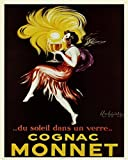 Buyartforless Cognac Monnet 20x16 Art Print Poster Cabaret