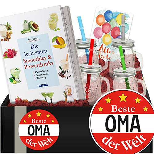 Beste Oma - Do It Yourself Set Smoothies und Shakes - Geschenk Oma Geburtstag
