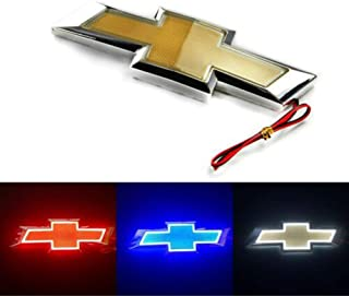 5D LED Car Tail Logo Light Badge Lamp Emblem For Chevrolet Holden Cruze Malibu EPICA CAPTIVA AVEO LOVR Fit for all Chevrolet of cars (red)