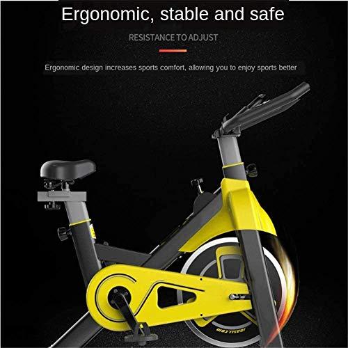 Attrezzature per il fitness Spinning Bike Home Fitness Training Home Controllo Magnetico Spinning Bike Indoor Perdita di Peso Ultra Tranquillo Pedale Esercizio Bike-White