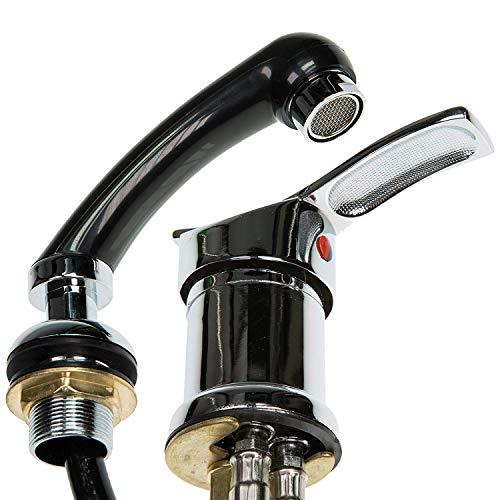 Mischbatterie und Handbrause WHIRL + SHOWER für Friseurwaschsessel - 2