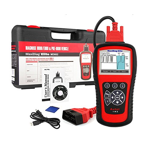 Autel MD802 OBD2 Scanner EOBD Scan Tool for Engine...